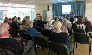 Speaking to U3A Flinders students in 2016