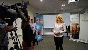 Kati on Channel 9 news